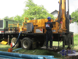 Our Truck Mounted Water Well Drilling Rig Works In Ethiopia