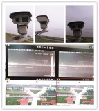 1km night vision HD Laser IP PTZ Camera works very well on Changjiang River