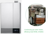 New condensening gas water heater launched