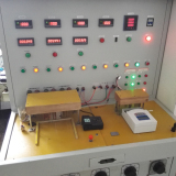 Testing station for water pump pressure controller