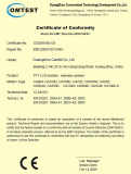 CE certificate of LCD monitor