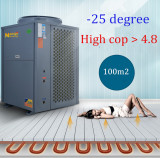 High cop Floor heating EVI -25 degree air to water heat pump