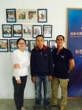 visiting factory :clients from Vietnam