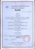 Rohs Certificate for RG58,RG59,RG6,RG11,RG213,RG174