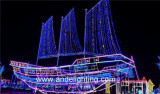 LED 3D Motif lights projects in Malaysia