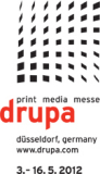 Drupa 2012 in Dusseldorf Germany