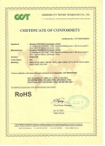 MOBILE DVR ROHS CERTIFICATE
