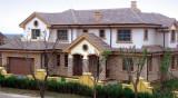 America Quality Solid Oak Wood Aluminum Casement Windows for Villa