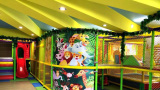 Jungle style indoor playground for kids
