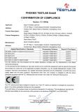 UPS CE certificate