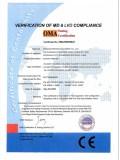 CE Certificate of Screen Printer