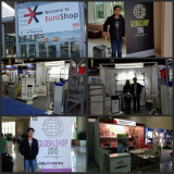 Our booth in Euroshop and Globalshop exhibition