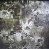 Tsautop new arrival 1m width snake skin aqua transfer print film