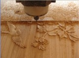 Wood relief CNC