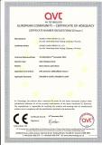 CE certificate of solar panel