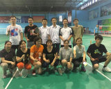 Jiuhong Team in Badminton match