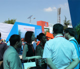 Africa clients visist our booth at China Mining Equipment&Technology exhibition