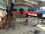 Three-Torch CNC Plasma Cutting Machine