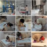 Solid Surface Bathroom Basin Fabrication