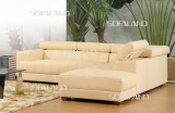 leather sofa 828#