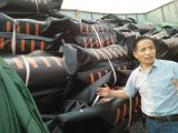 ARD rubber oil boom solid float type oil boom