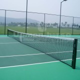 Complete solution for tennis court equipment