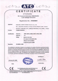 CE Certificate for 8081Y-8200Y Power Inverter