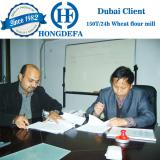 Dubai client visiting