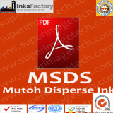 Mutoh Disperse Dye Sublimation Inks MSDS
