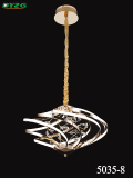 Modern Home Lighting Crystal Chandelier Light/Pendant Lamp Byzg 5035-8