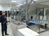 Our Automatic 12000BPH Water Filling Line in Qatar