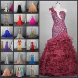 Real Photos Evening Party Prom Quinceanera Dress Ball Gown