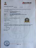 Certificate of BV