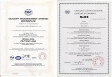 ISO and RoHS Certification