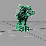 3D Maya Design - Wolf Model