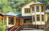 Solid Pine, Larch, Oak, Teak Wood Thermal Break Aluminum Windows for Villa