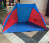 Customer Checking Hot Selling Outdoor Tent