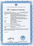 CE Certificate for 8030,8030U,8031,8031U,8032,8032U Power Inverter