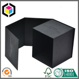 Black Color Square Shape Candle Gift Paper Box
