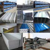 Finished Steel Structure Materials
