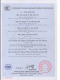 LEMA Micro Switch KW12 CCC Certificate