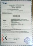 Hydraulic crimping tool certificate