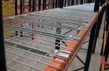Enjoy convenient storage with wire mesh decking panels