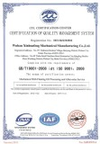 Iso Certification of quality management system