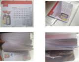 The Combination of mouse pad and calendar and catalogue