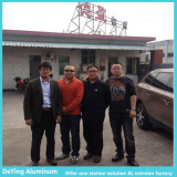 Japanese Customer visit DeYing Aluminum Facotry