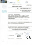 CE Certificate of Film Extrusion Machine