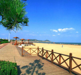 Being Huangdao′s largest beach