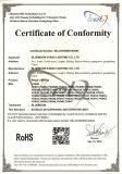 RoHS Certificates[Apr 19,2016]