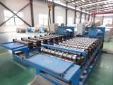 Aluminium corrugated sheet production line